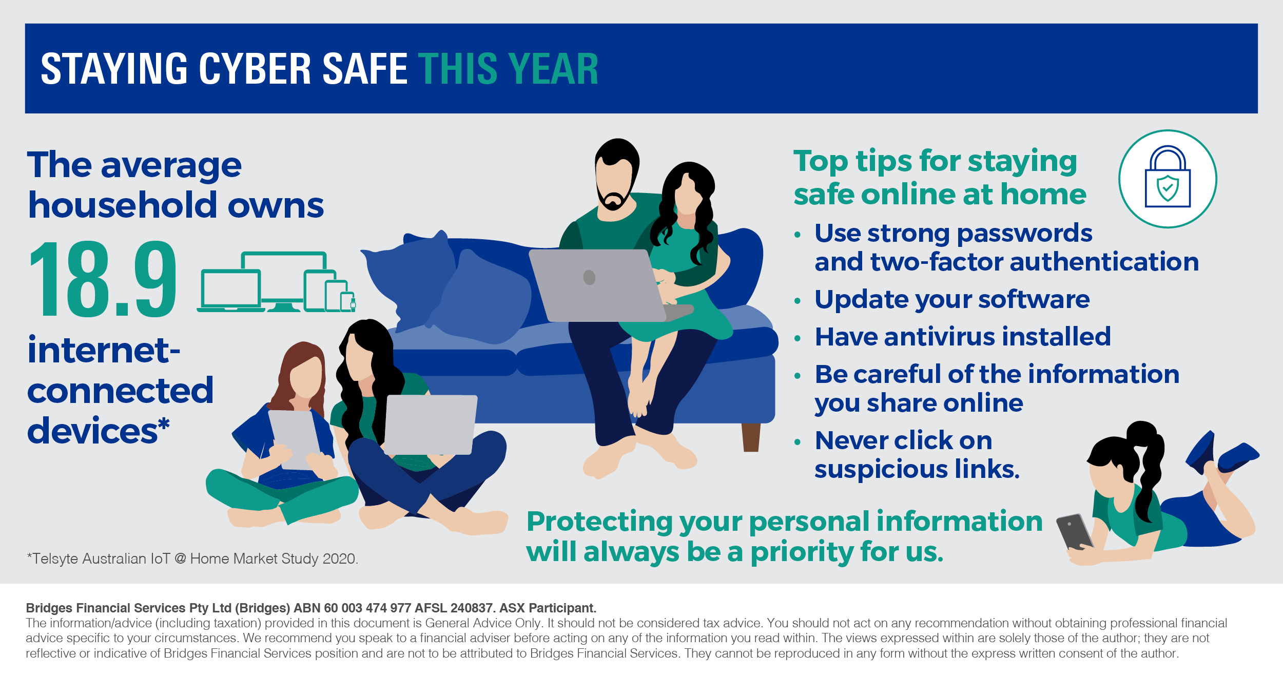 Staying cybersafe this year